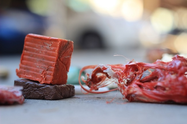 再生塑料垃圾做收纳工具