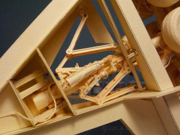 牛人花7年打造波音777客机纸模型