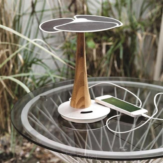 银杏树太阳能充电器