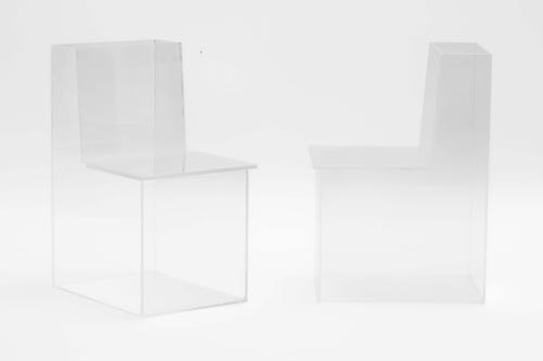 透明儿童座椅