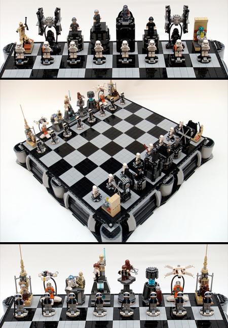 奇趣创意的国际象棋棋子欣赏