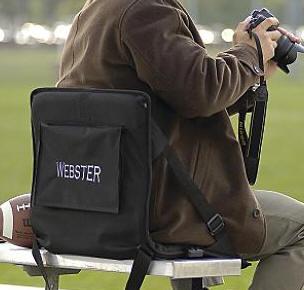 公文包样式的便携坐垫