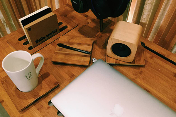 Astrobamboo 模块收纳桌,让你的桌子秒变整洁