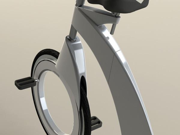 Diamove 创意折叠自行车