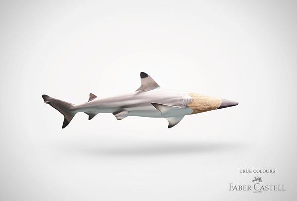 德国Faber-Castell公司创意彩色铅笔广告