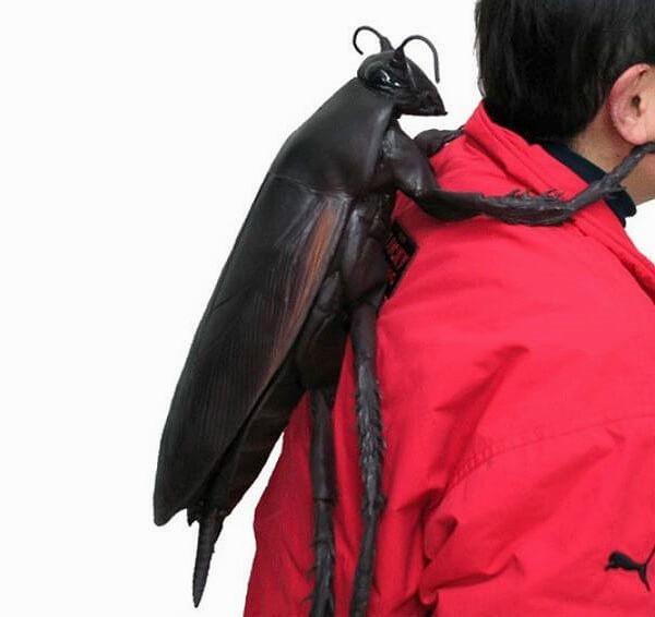 日本昆虫造型创意背包
