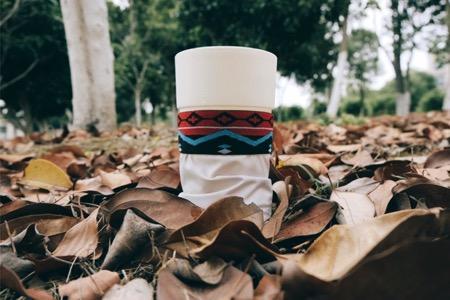随意放沙袋创意杯子(Camping Cup)