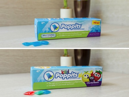 好吃的胶囊创意牙膏(Poppits)