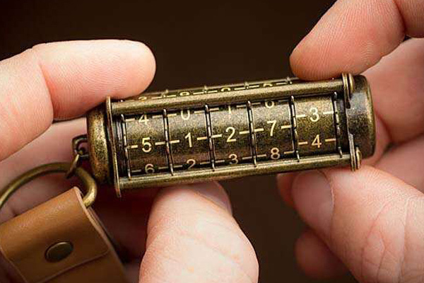 密码锁样式人全金属U盘