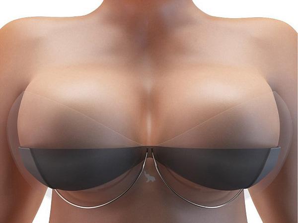 Kewi 让胸部变大的磁浮胸罩
