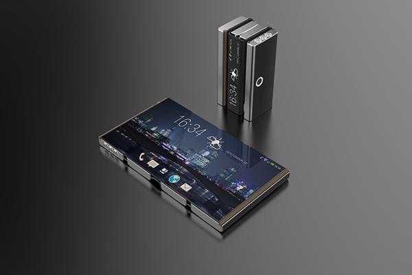 Drasphone 可折叠的智能手机