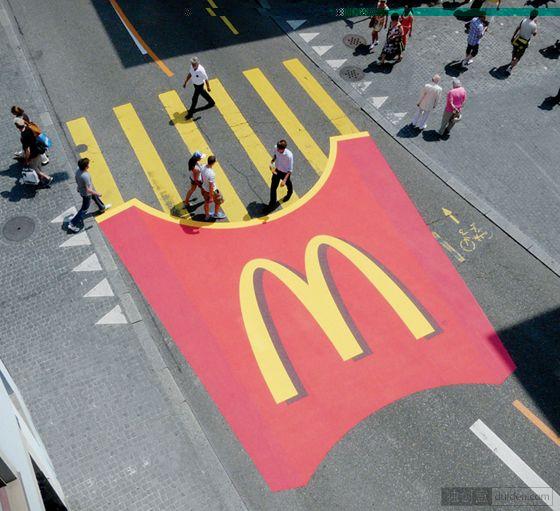 十款最有创意的人行横道广告设计