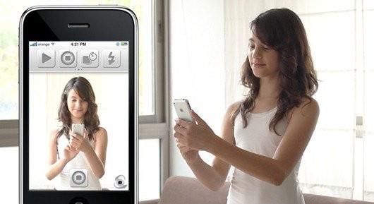 MMI口袋相机 使用iPhone遥控玩自拍