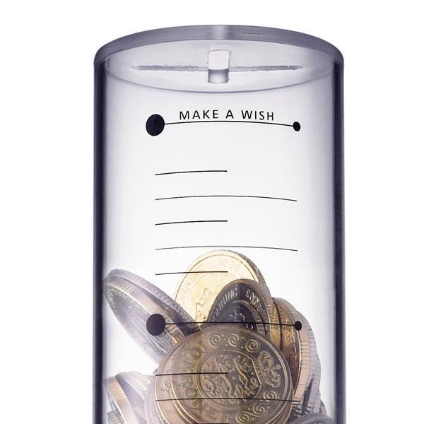 时间刻度创意存钱罐