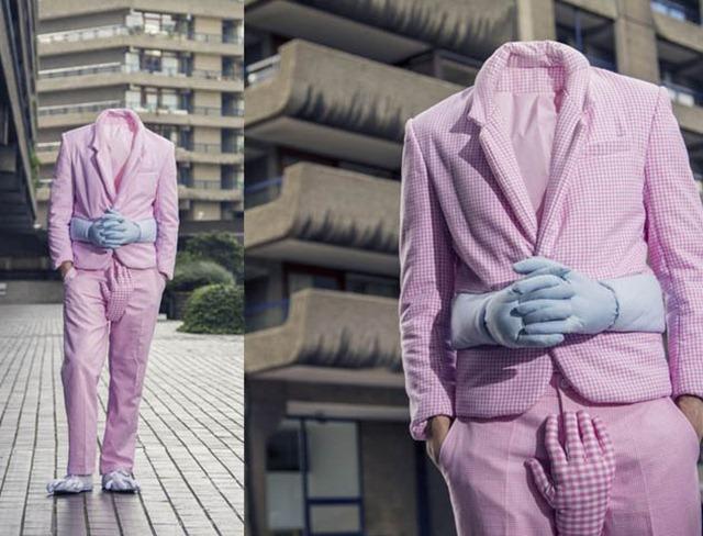 Si Chan设计趣味环抱羽绒服