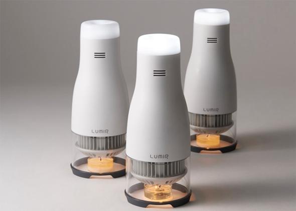 不用电的蜡烛LED创意灯具(lumir C)