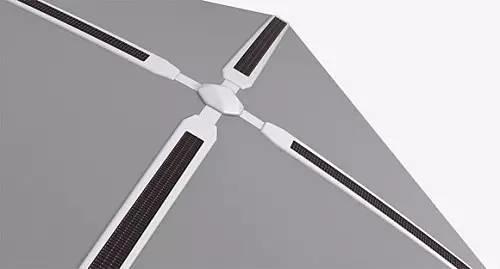 ShadeCraft设计的户外智能遮阳伞