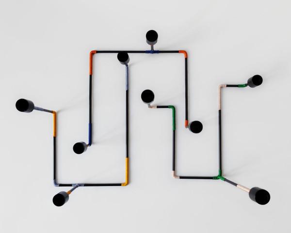 Miriam Josi设计的创意迷宫烛台Bougeoir Labyrinthe