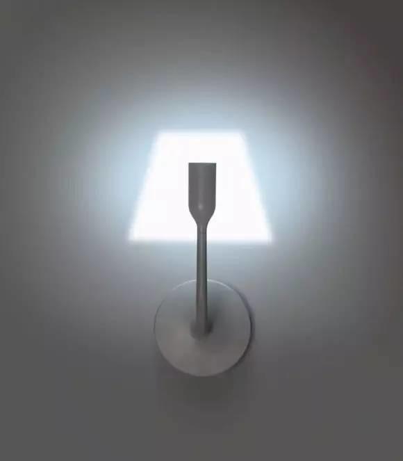 有灯罩又没有灯罩的壁灯YOYWall