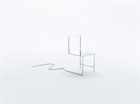 漫画风极简椅子