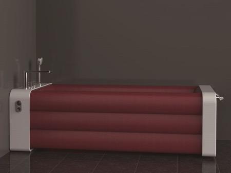 折叠充气创意浴缸