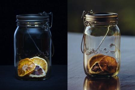 能装阳光的创意玻璃瓶