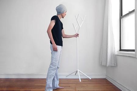 树枝型组合创意衣架(Y-rack)