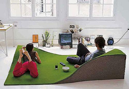 立体创意地毯
