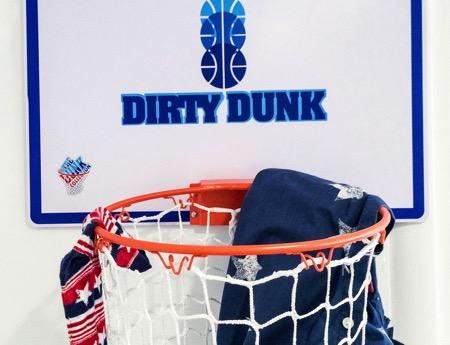篮筐式衣服创意收纳袋(Dirty Dunk)