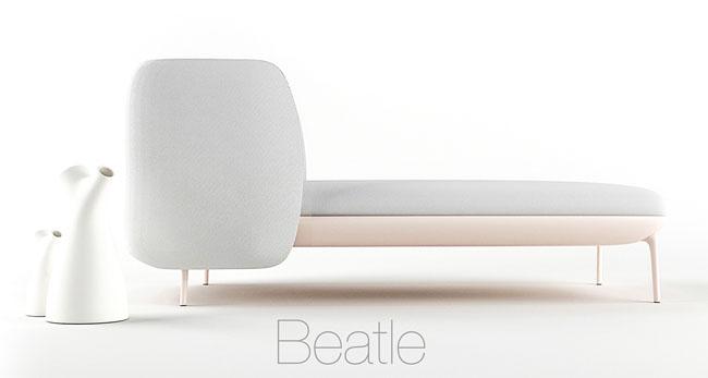 简约大方的Beatle沙发创意设计