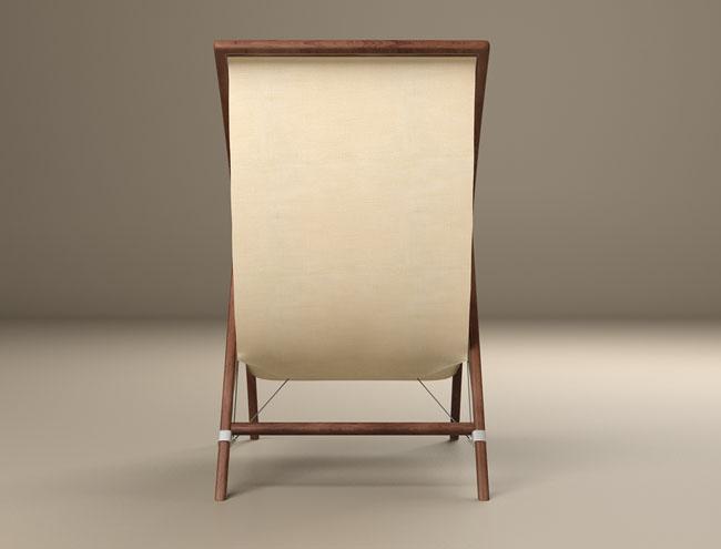 舒适的Jedro简约躺椅创意设计
