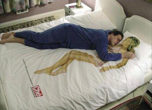 极具创意的床单、被子和枕头