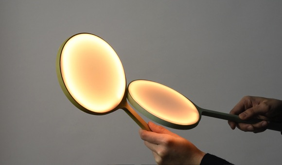 火苗灵感的趣味小灯Breeze创意设计