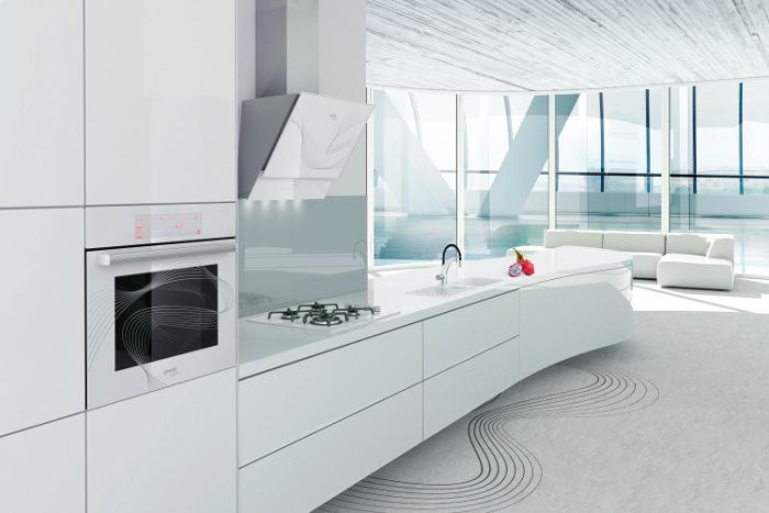Karim Rashid设计的流动的生活厨房艺术