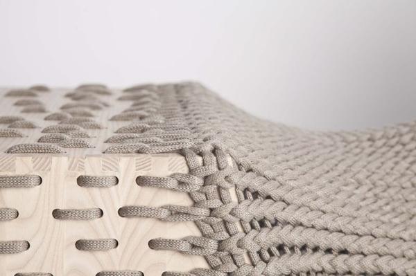 Mónus Kata的毕业设计作品--纺织家具
