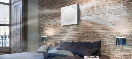 LG的扁平壁挂式冷暖空调Artcool Stylist Inverter V