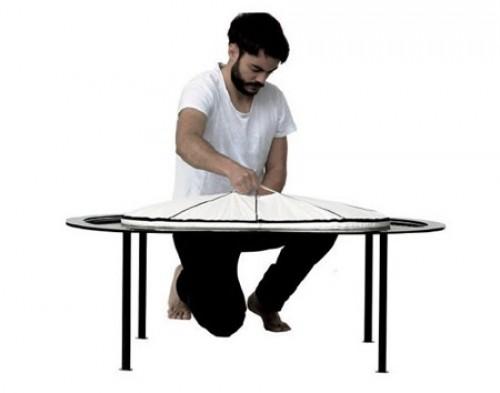 Carina Deuschi设计的创意便携式折叠浴缸Xtend