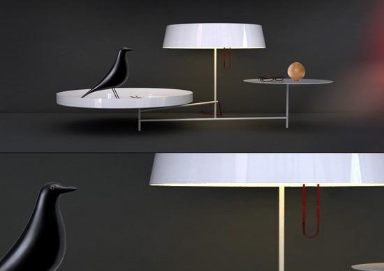Acueil灯具+置物组合