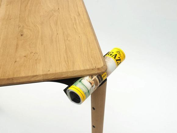 方便悬挂的创意餐桌Trapesi