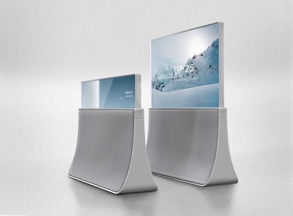 Kwanjun Ryu设计的电视音响Atelier