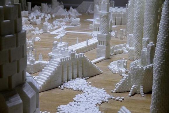 数千人联合打造方糖都市