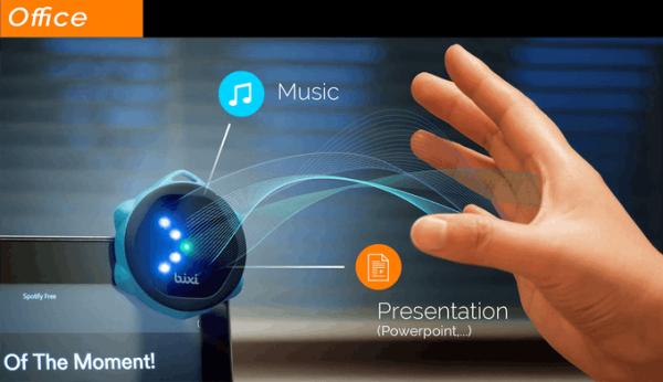 Bixi手势遥控器 可凌空操控电子设备
