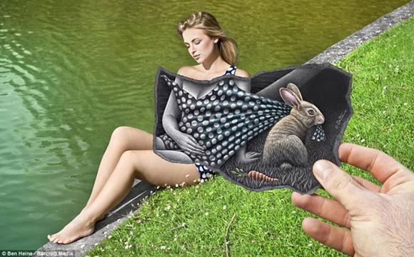 Ben Heine 艺术与现实