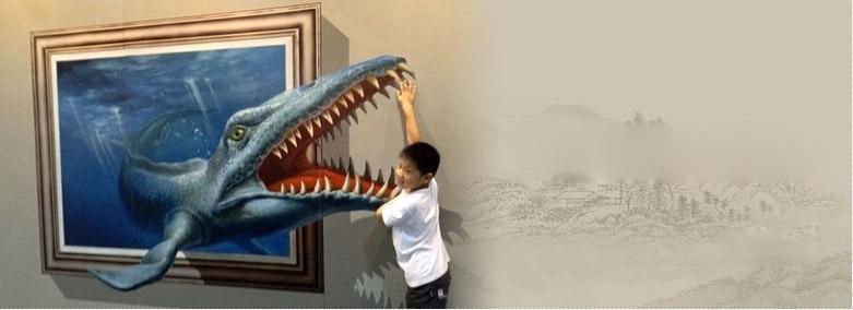 创意3D立体画