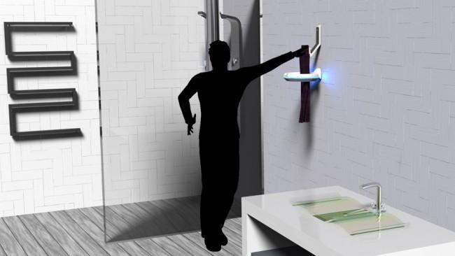 环形扫描仪和智能毛巾架Pure Towel