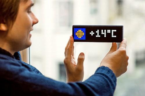 能显示手机讯息的智能闹钟设计