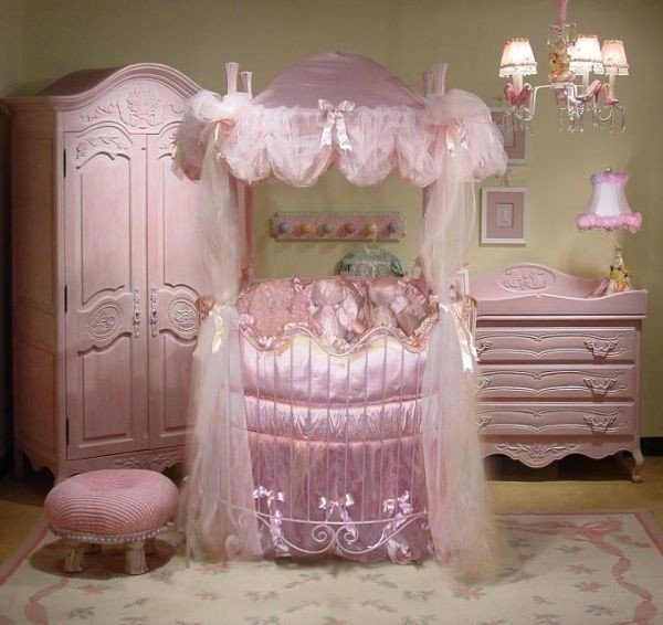系列圆形婴儿床创意设计