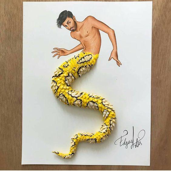 超级逼真3D绘画艺术品