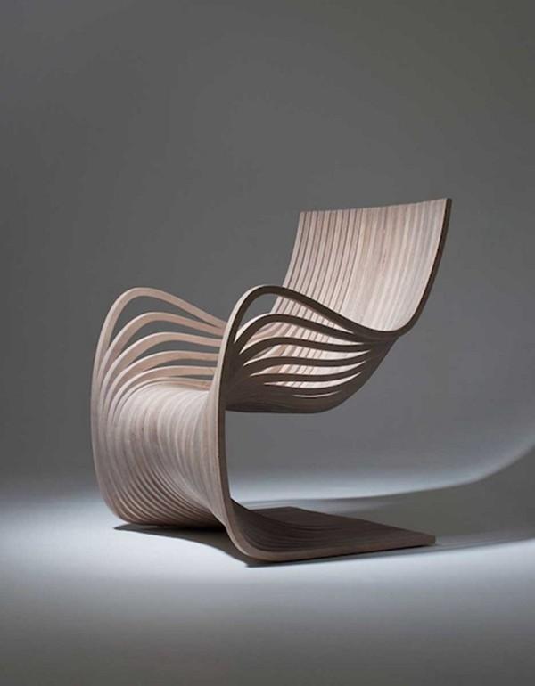 线条感十足的椅子(pipo chair)
