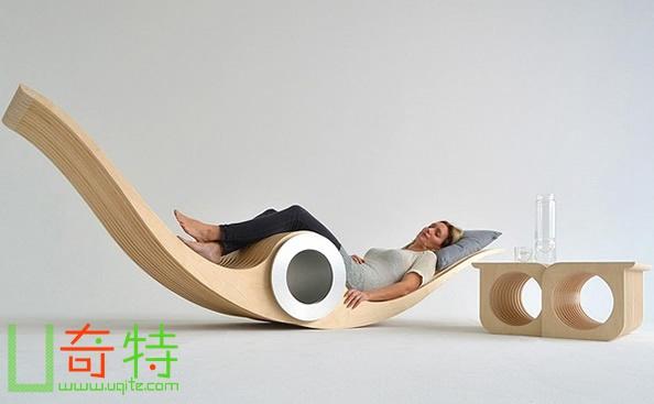 可变形多功能椅子(Exocet)